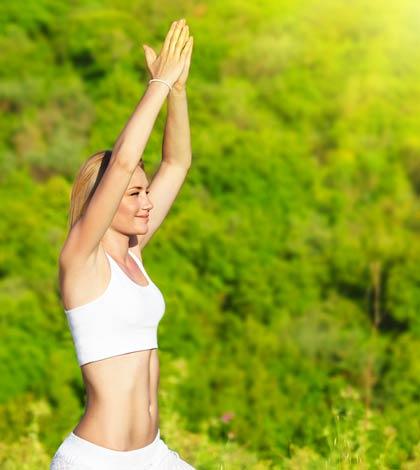 mit Yoga Stress abbauen